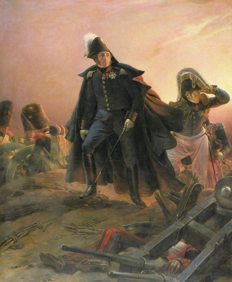 El duque de Angulema durante la intervención francesa en España, por Hyppolite Paul Delaroche
