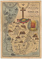 EB&EC Kellogg Brothers, Illustrative Map of Human Life, 1847 Cornell CUL PJM 1054 01.jpg