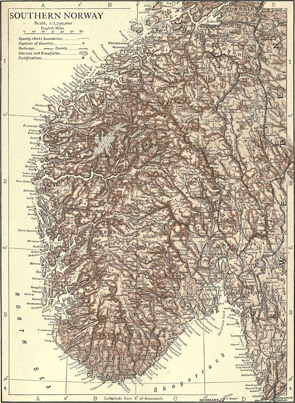 EB1911 Norway - map of the south.jpg