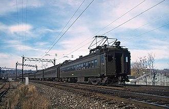 Erie Lackawanna MU Cars - Image: EL 3596 in November 1978 (21915166963)