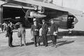 ETH-BIB-Fokker vor einem Hangar zwischen Alpen und Tunis-Nordafrikaflug 1932-LBS MH02-13-0033.tif