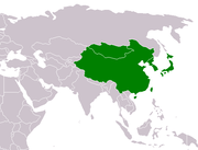 Geographic East Asia.