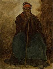 Dinah, Portrait of a Negress