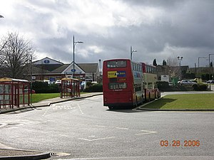Eckington, Derbyshire - Eckington bus station