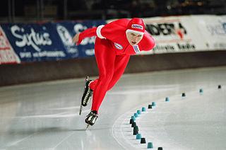 Edel Therese Høiseth Norwegian speed skater