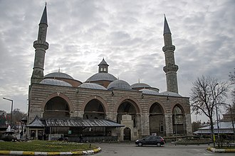 Old Mosque, Edirne - Image: Edirne Old Mosque from the front 0198