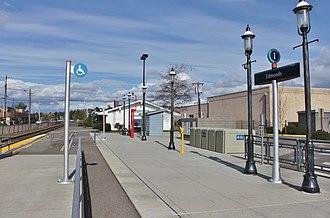 Edmonds station (Washington) - The platform at Edmonds station, rebuilt in 2011