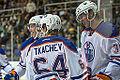 Edmonton Oilers Rookies vs UofA Golden Bears (15275328755).jpg