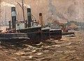 Eduard Schloemann - Schlepper im Hafen, 1915.jpg
