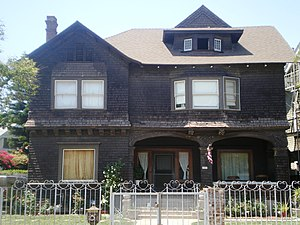 Edward Alexander Kelley Hackett House - Edward Alexander Kelley Hackett House, May 2008
