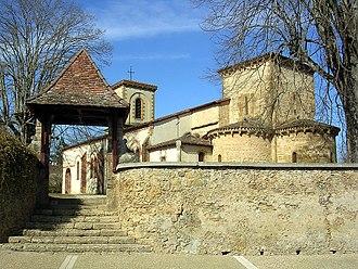 Saint-Pierre-du-Mont, Landes - Image: Eglise St Pierre Mont 1