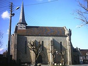 Bonnat, Creuse - The church in Bonnat