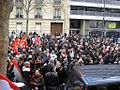 Egypt solidarity protest in Paris, 29 January 2011 007.jpg