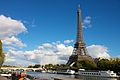 Eiffel Tower from across the Seine October 20, 2010.jpg