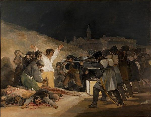 El Tres de Mayo, by Francisco de Goya, from Prado in Google Earth.jpg