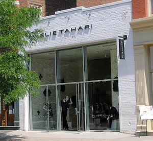 Elie Tahari - Elie Tahari's boutique in the SoHo neighborhood of New York City