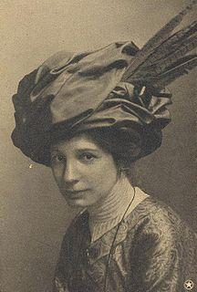 Elin Wägner Swedish writer, journalist and Suffragette (1882–1949)