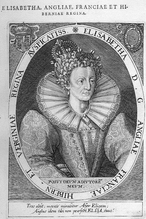 Elisabeth I England MATEO