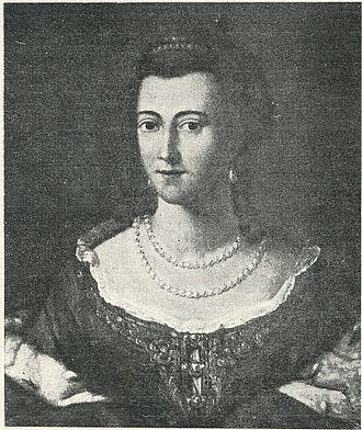 Duchess of Courland - Image: Elizabete magdalena
