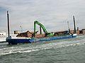 Embarcació pel canal de la Giudecca, Venècia.JPG