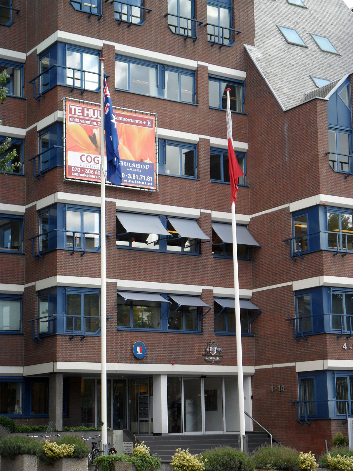 List of diplomatic missions in the netherlands wikipedia for The consulate