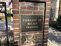 Embassy of Belize sign.jpg
