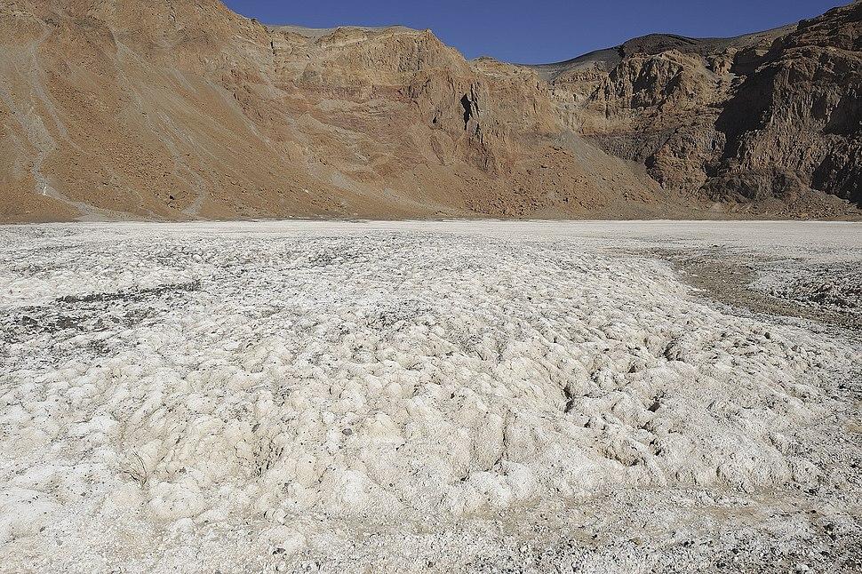 Emi Koussi crater natron