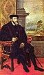 Keizer Karel V door Titiaan