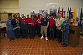 Employees of Chesapeake Service Systems pose with U.S. Navy leadership of Naval Air Station (NAS) Oceana after receiving appreciation awards during the annual AbilityOne luncheon for employees with disabilities 131030-N-VH054-052.jpg