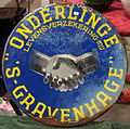Enamel advertising sign, Onderlinge 'S-GRAVENHAGE levensverzekering-Mij.JPG