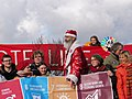 Ende Gelände November 2017 - Activists with Sustaina Claus 3.jpg