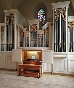 Endersbach (Weinstadt), Evangelische Kirche, Orgel (5).jpg