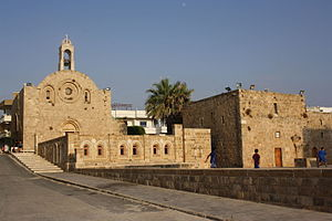 Enfeh - The Saint Catherine Church at Enfeh, North Lebanon