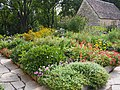 English Limestone Cottage with Garden in full bloom (9708860391).jpg