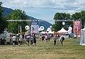 Entrée du festival Musilac 2017 - Site de l'esplanade - Aix-les-Bains.jpg