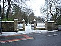 Entrance to Oak Hill Park off Manchester Road - geograph.org.uk - 1659619.jpg