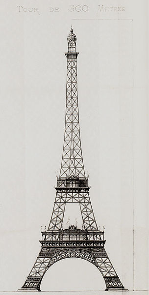 File:Entwurf Eiffelturm - Stephan Sauvestre (1887).jpg