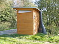 Enviroloo public composting toilet at Norderstedt,Germany (6210816977).jpg