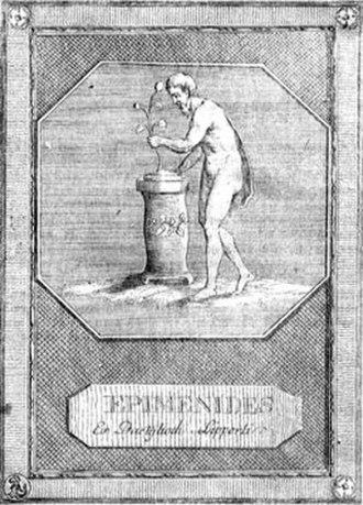 Epimenides - Epimenides of Cnossos