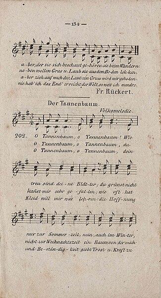 Das Tannenbaum.File Ernst Anschuetz Der Tannenbaum 1824 I Jpg Wikimedia Commons