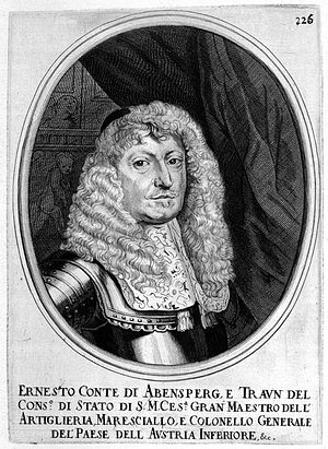 Magnate conspiracy - The most influential military person in Austria, whose son was married to the niece of Fran Krsto Frankopan, died in 1668.