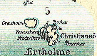Ertholmene - Ærtholmene around 1900
