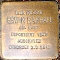 Erwin Raphael Stolperstein.JPG