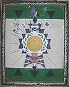 Escudo de Cordillera en tela - Original presentado en el concurso.