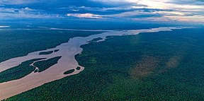 Die Essequibo in Guyana.