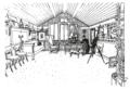 Ett hem Carl Larsson svartvit teckning 06.png