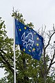 Europa Nostra flag in Gulbene.jpg