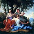 Eustache Le Sueur - The Muses Clio, Euterpe and Thalia.jpg