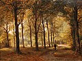Everhardus Koster - Le Bois de Haarlem in Holland (1862).jpg