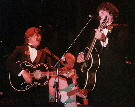 The Everly Brothers in 2006 Everlys Brothers in concert.jpg